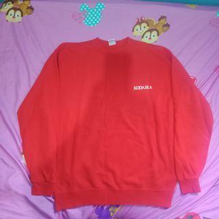 #maudandan sweater red basic