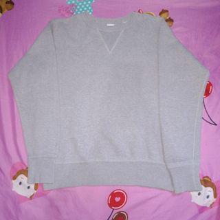 #maudandan oversized sweater silver basic