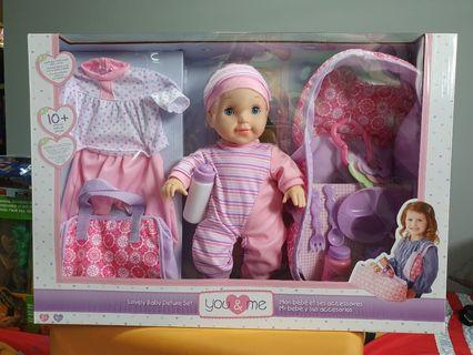 You & Me Lovely Baby Deluxe Set