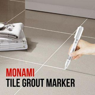 TILE GROUT COATING MARKER AVAILABLE IN WHITE CREAM AND GREY