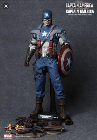 🚚 Hot Toys Captain America The First Avengers MMS156