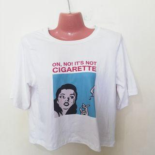Oh no cigarette hanging top