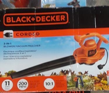 Black and Decker 3-n-1 Blower/Mulcher/Vacuum