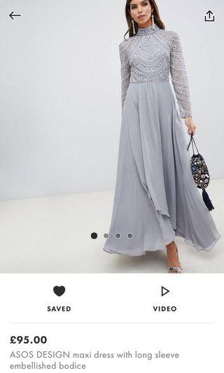 (Looking For) Grey Maxi Dress
