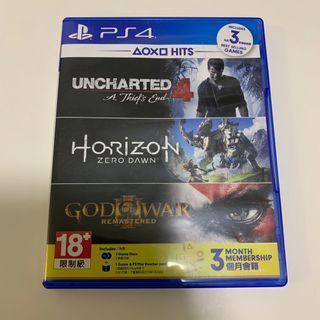 🚚 PS4 Hits: uncharted 4 & horizon