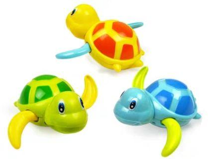 🚚 🌷倫瑀蓉媽咪生活小鋪🌷全新寶寶/嬰兒酷游小烏龜造型洗澡玩具