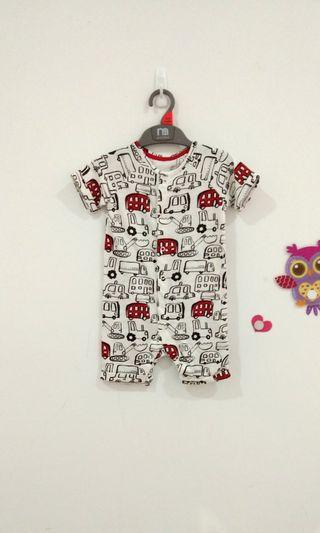🆕9-12M Mothercare Playsuit