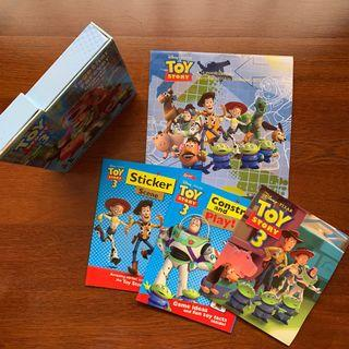 Toy Story storybook and play box & calendar