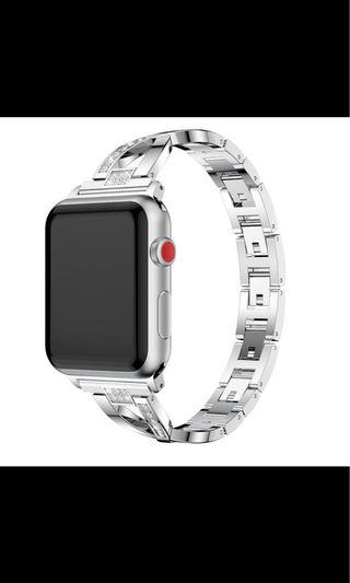 strap apple watch 4 ukuran 44mm warna Silver