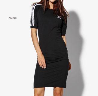 Adidas Dress 緊身連身裙 sammi 同款