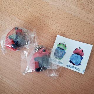 扭蛋玩具 青蛙