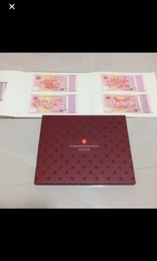Singapore  SG50 Commemorative Notes