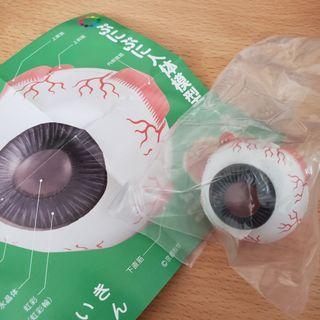 扭蛋 人體模型 眼球