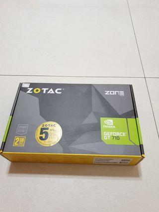 NEW ZOTAC GRAPHIC CARD 2GB