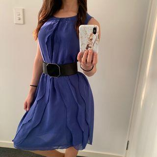 Violet Dress/ Long Top New With Tags
