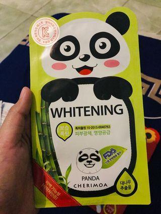 Cherimoa mask - Panda