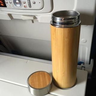 Bamboo Shell Thermal Flask Bottles