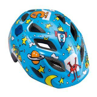 MET Elfo Kids Helmet for Cycling, Skating, Escooter, Size 46-53cm