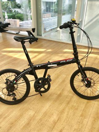 Java Decaf TT Foldable Bike