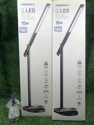 Momax 無線充電座檯燈 【10W(max.)無線充電輸出】