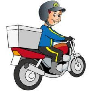 DESPATCH RIDER WITH OWN BIKE / WEEKLY PAYMENT