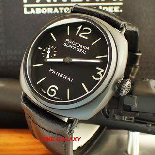 Preowned PANERAI Radiomir Black Seal 45mm Handwound Ceramic watch. Model PAM00292 or PAM292