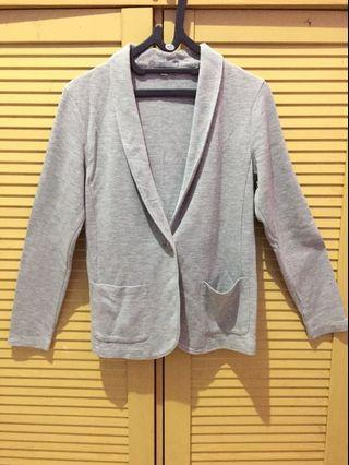 Grey Blazer Uniqlo