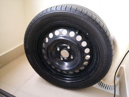 "Spare Wheel 15"""