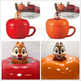 【現貨】🇯🇵日本直送🇯🇵 🔝Chip n Dale南瓜蕃茄造型 陶瓷湯杯 🔝#18DEC12