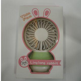 Ling Long Rabbit閃燈小風扇Thin Fan