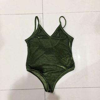 Bikini army velvet