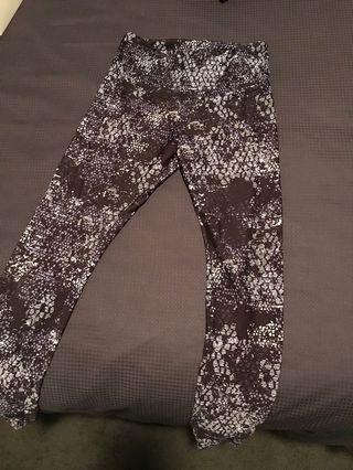 Lorna Jane full length tights (small)