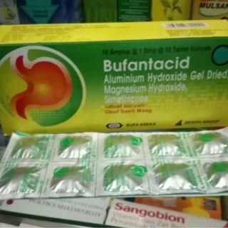bufantacid tablet per box