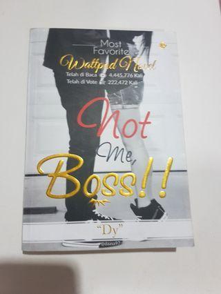 Novel: Not me, boss!