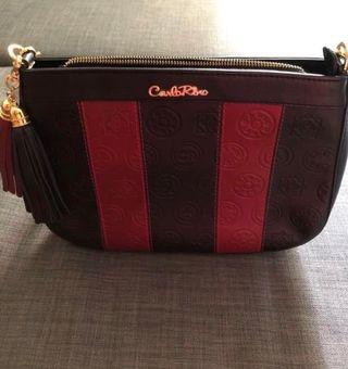 Authentic Carlo Rino Sling Handbag