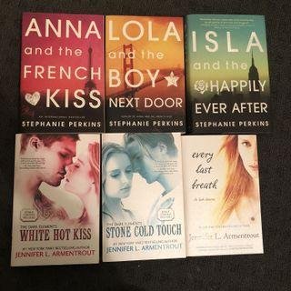 Anna and the French Kiss Series / The Dark Elements Series