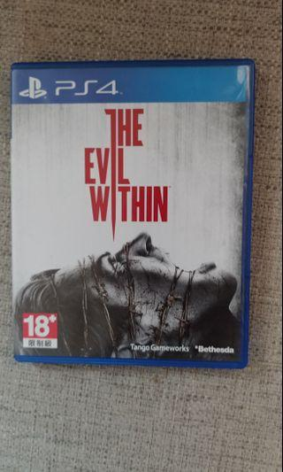 PS4 Game The Evil Within
