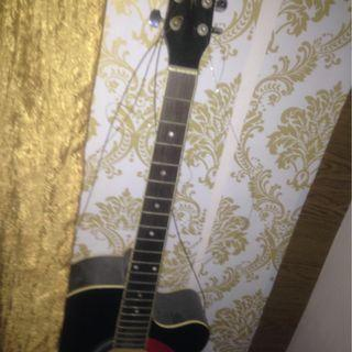 Chord guitar with pick up