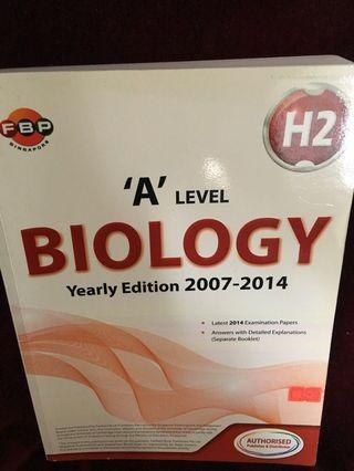 🚚 A level biology tys