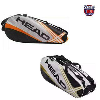 Head Tennis Bag Sports Gym Backpack Separated Shoes Storage Fitness Bags