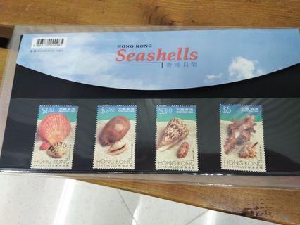 香港貝殼郵票