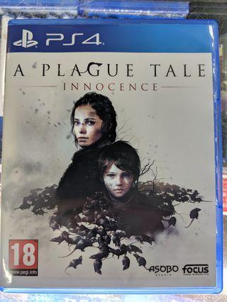 PS4 A PLAGUE TALE INNOCENCE 中英合版