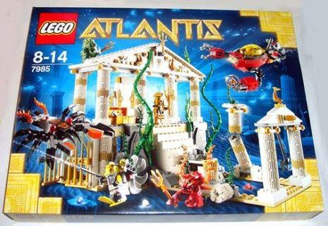 🚚 Epic Lego Atlantis City Set 7985