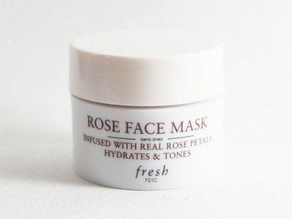 Fresh Rose Face Mask - 15ml