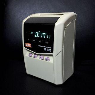 Time Recorder Time Stamper MAX ER-1500