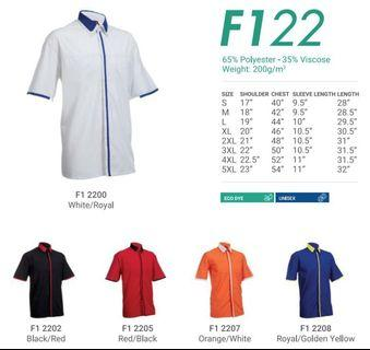 Corporate Shirt for (MEN) F1 22 - by Oren Sport