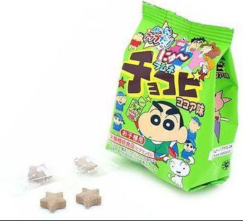🚚 Orion Crayon Shin-Chan Ramune Chokobi Cocoa Flavor