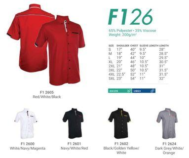 Corporate Shirt for (MEN) F1 26 - by Oren Sport