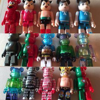 Bearbrick  100% selling all together @ 700.00