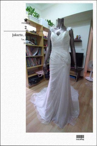 品牌全新婚紗禮服